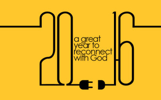 2016 a great year to reconnect with God